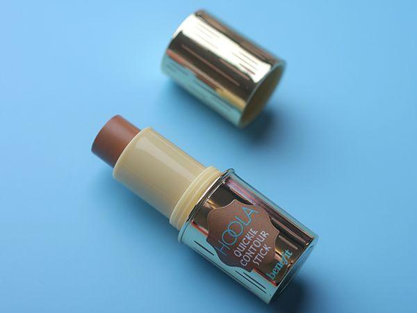 Новинка стик для контуринга Benefit Hoola Quickie Contour Stick и отзывы с макияжем бронзера.