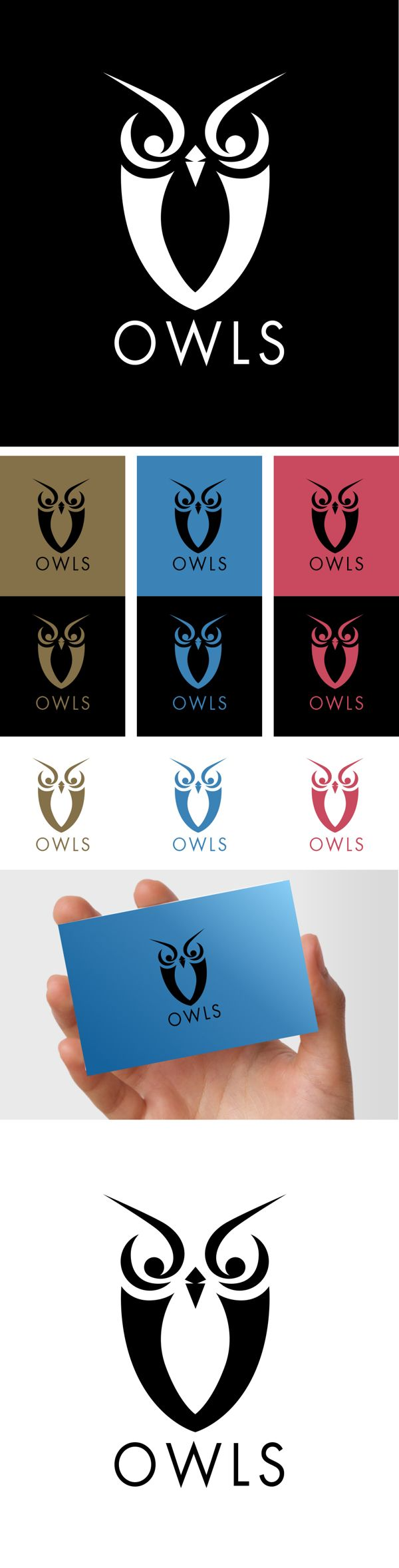 OWLS by Polkapixel , via Behance