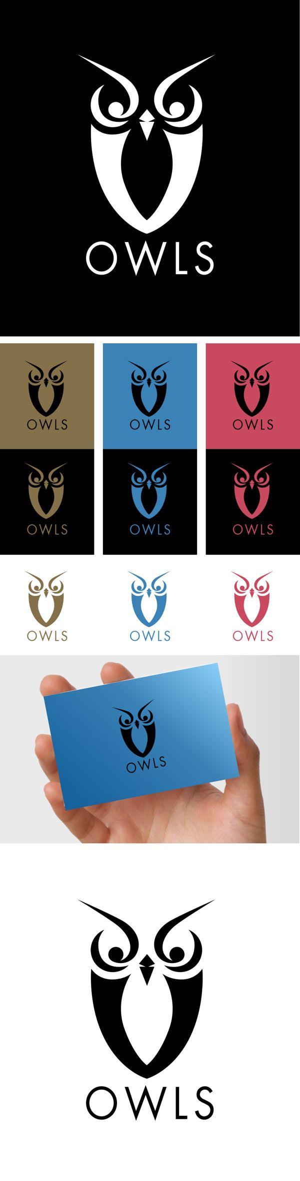 OWLS by Polkapixel , via Behance