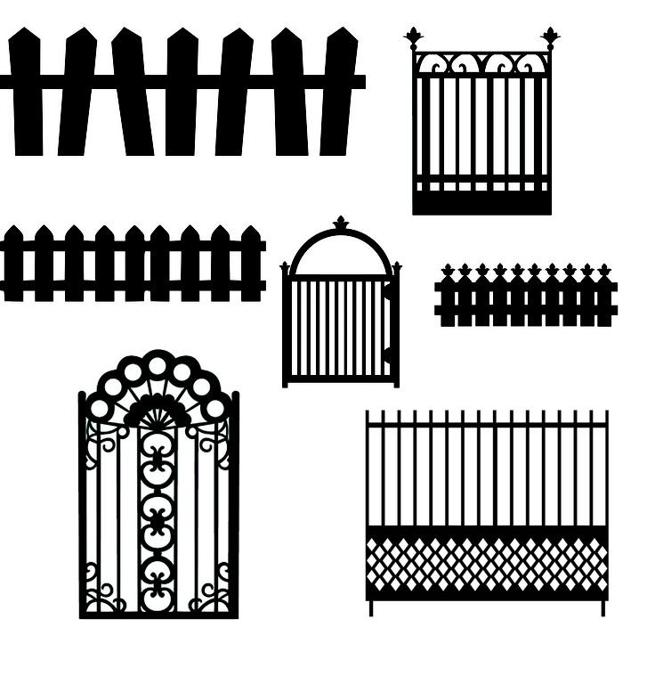 Des clôtures