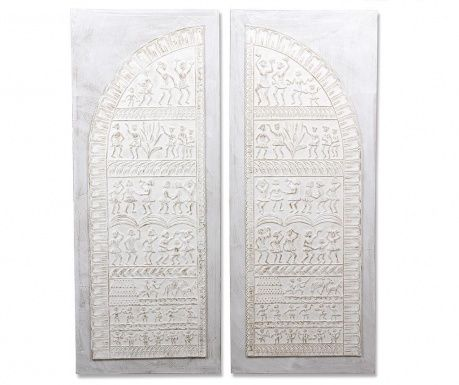 Set 2 decoratiuni de perete Peasant Door