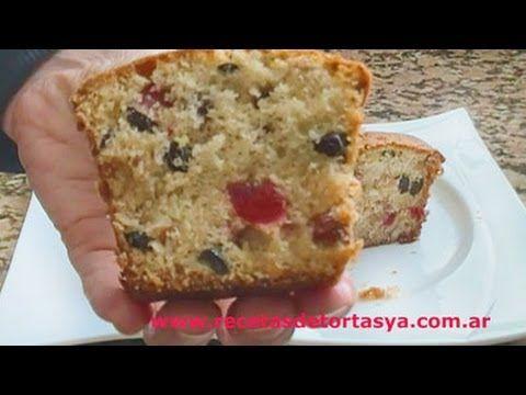 Plumcake- Recetas de Tortas YA! - YouTube