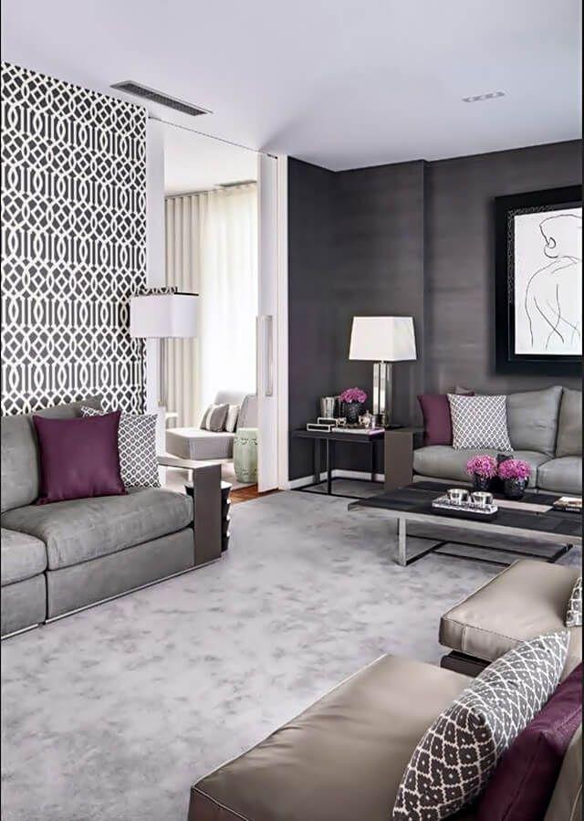 29 Great Grey Living Room Ideas Purple Living Room Mauve Living Room Plum Living Room