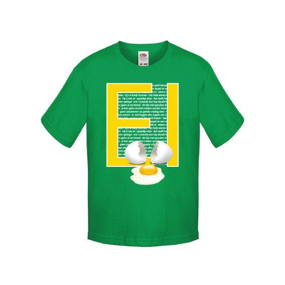 T-shirt de dag van het ei   Ei gezegden   De dag van   vanSHIRTJEtotSHIRTJE