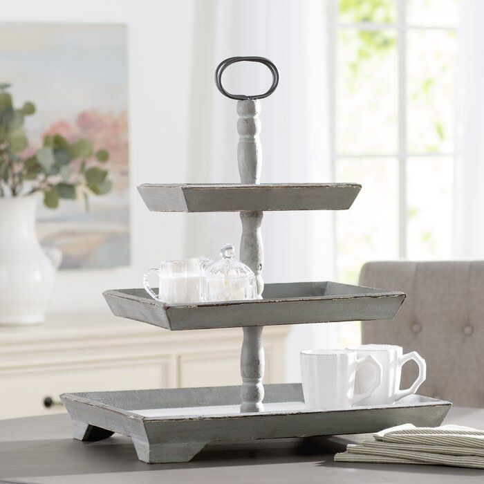 Lacordaire Tiered Stand Tiered Stand Wooden Tops