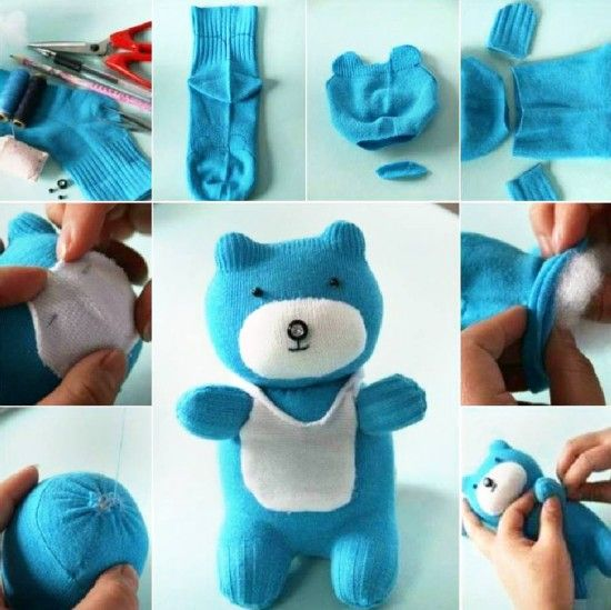 Sock Bear Tutorials