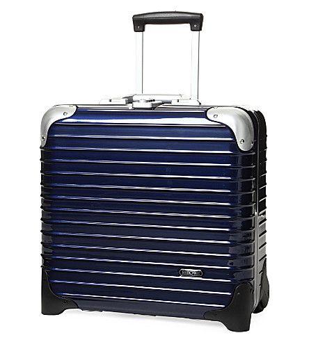 RIMOWA Limbo two-wheel business trolley 40cm. #rimowa #bags #trolley #travel bags #