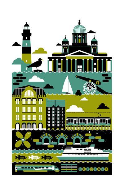 Helsinki Art Print | Koivo