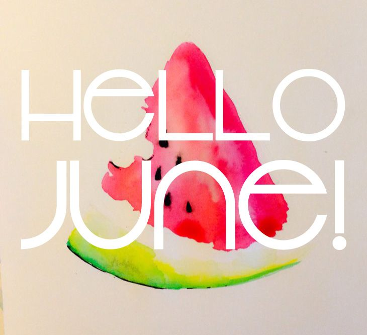Hello June! So glad you're back! Brads, mine and Paxton's birthdays are this month. Dream cruise also. Time to start planning our birthday party! June is a good month ❤☀ sweet summer time!
