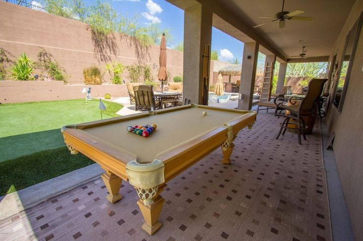 Transitional Game Room