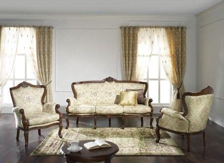 Filippone Barocco w stylu barokowym to salonik o klasycznej formie z piękną rzeźbą na profilach - Novelle