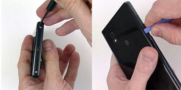 Các chuyên gia tại trung tâm sửa chữa điện thoại Công thành sẽ hướng dẫn từng bước các bạn làm thế nào để sửa chữa LG Optimus G E970 khi thay thế màn hình bị nứt vỡ. Có thể sau hướng dẫn này các bạn có thể tự mình sửa chữa điện thoại hay tự...