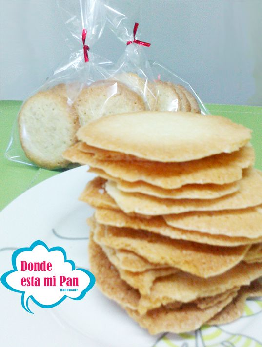 Galletas sin gluten, de coco + harina de arroz, sin mantequilla, ni leche.
