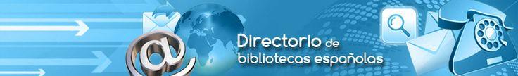 Directorio de bibliotecas españolas
