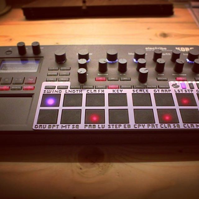 Electribe 2 synth & sampler SHIFT…