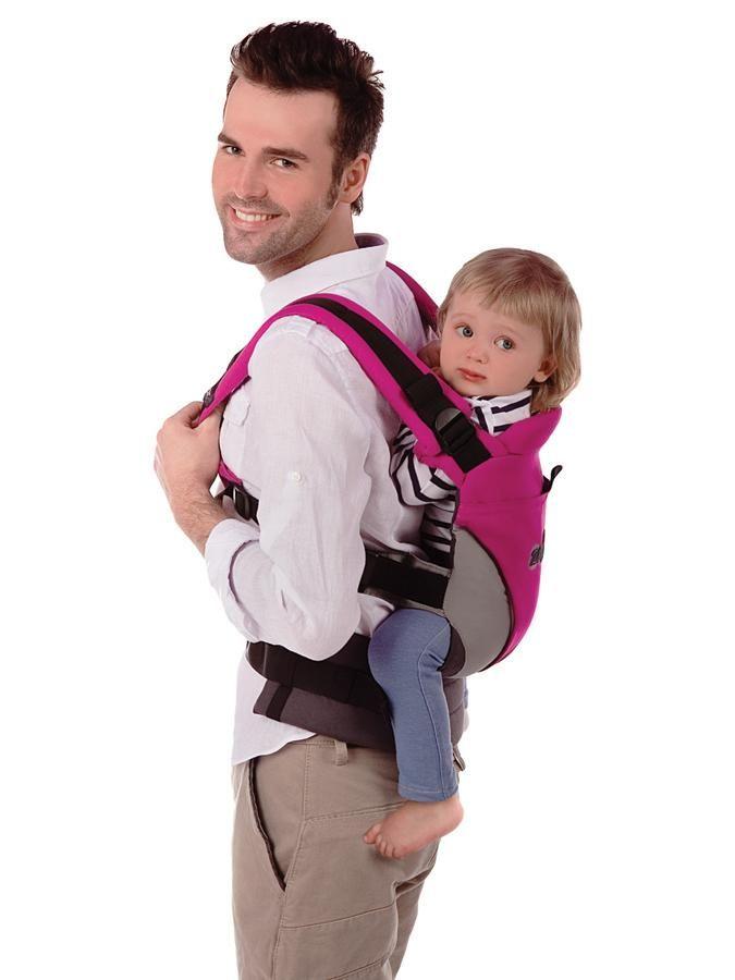 Ergonomický nosič Womar Zaffiro Eco Design, ružový - WOMAR