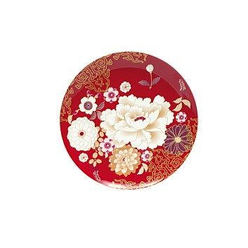 Maxwell & Williams Kimono Cake plate 20cm Red    Now Only $13.99