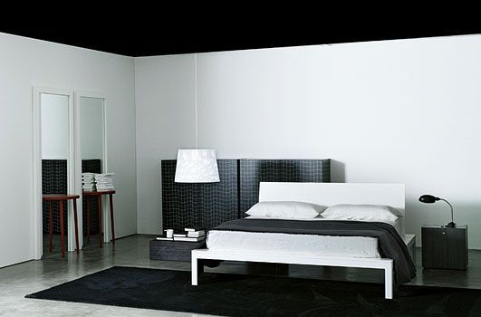 Letto Offshore Porro design by Piero Lissoni