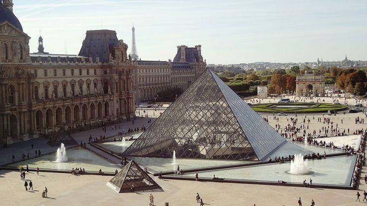 Louvren  #Paris #City #Storstad #Stad #Huvudstad #France #Franktike #Europe #Travel #Europa #Resa #Resmål #Museum #Louvren