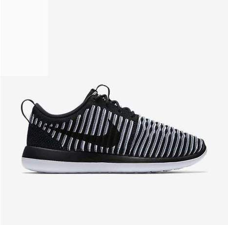 3cbec6a9d9a7b Nike Roshe Run Two Flyknit Black White  rosherun-060  -  56.99 ...