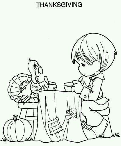 advanced coloring pages thanksgiving food - photo#2