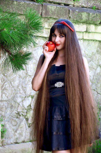 Maria Akopyan Long Hair Long Hair Styles Permed