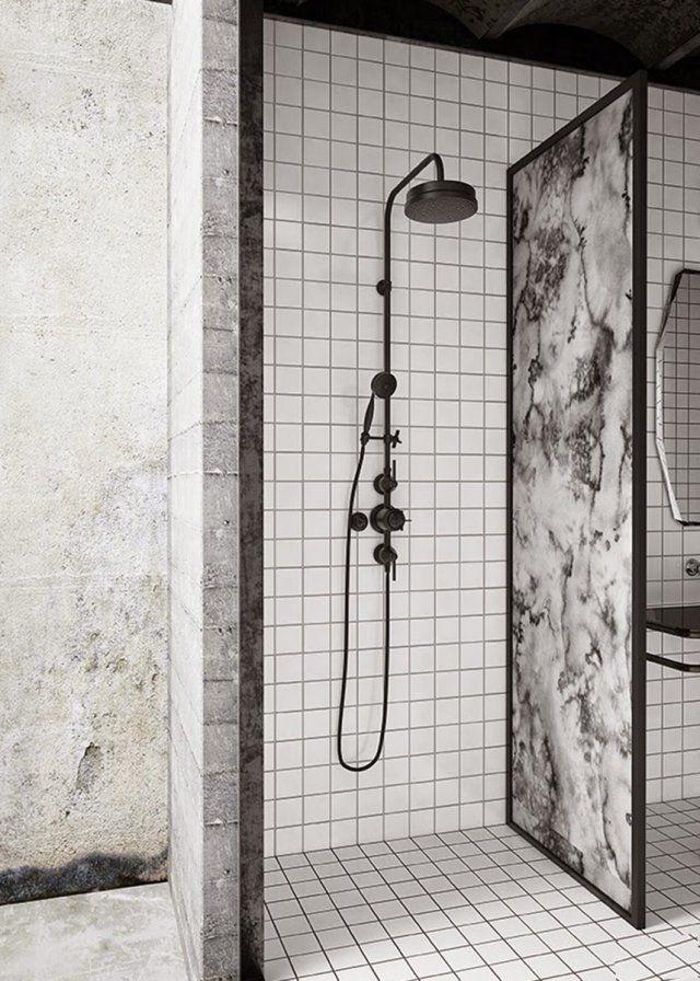 1000 id es sur le th me douches en marbre sur pinterest for Realisation salle de bain italienne