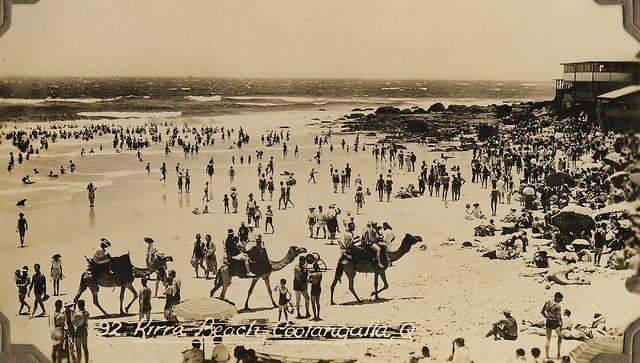Vintage Gold Coast, Australia #goldcoast #beach #australia #swimwear #vintage