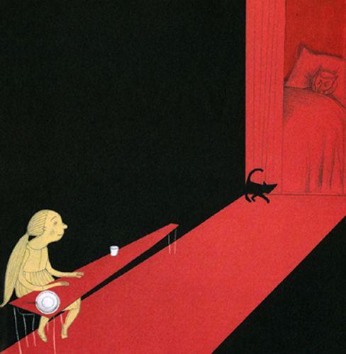 La bambina e il lupo - Chiara Carrer   Editore Topipittori. 2005