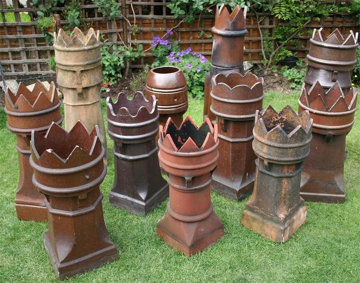 Chimney Pots I have two of these and i use them as planters.