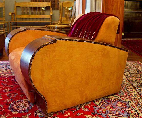 Art Deco lounge piece.