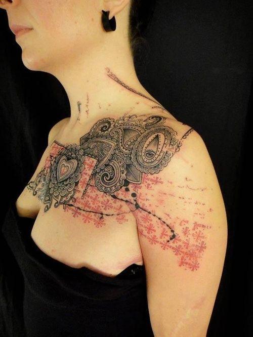 » Сумасшедшие татуировки из Франции Это интересно!