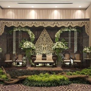 Javanese - Indonesian Wedding Theme with Gunungan, one of Javanese cultures from Indonesia