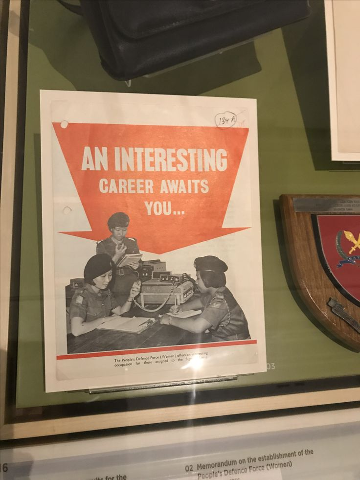This is a recruitment poster for the Singapore Armed Forces from the past and one thing I realized is that the text on the poster is straight to the point. It does not make use of rhetorical questions or quotes on the poster.