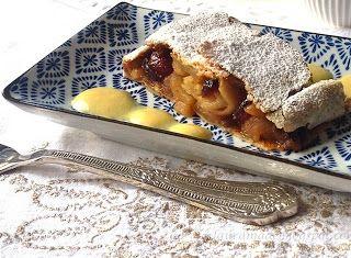 Denny Chef Blog: Strudel di mele e mirtilli rossi