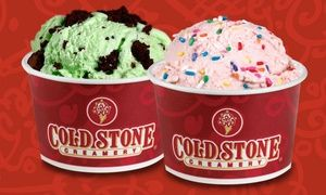 Cold Stone location under new ownership blends mix-ins with fresh-churned ice cream to create unique flavor combinations