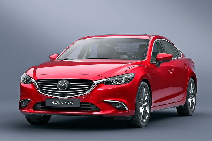 Mazda6 Facelift (2015): LA Auto Show 2014 - Bilder - autobild.de