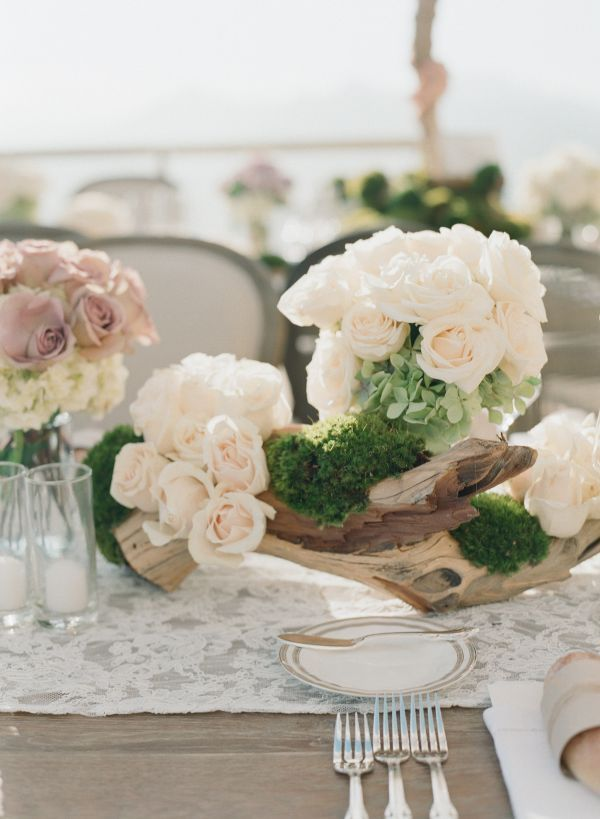 18 best driftwood centerpieces images on pinterest for Driftwood table centerpieces