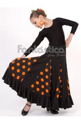 Vestidos y Faldas de Flamenca / Sevillana para Niñas - Tienda Esfantastica