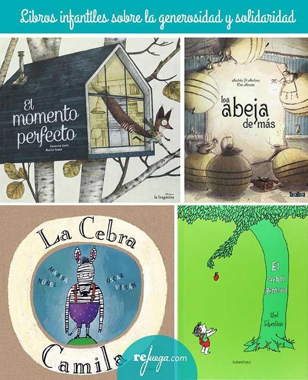 Libros para niños sobre la generosidad