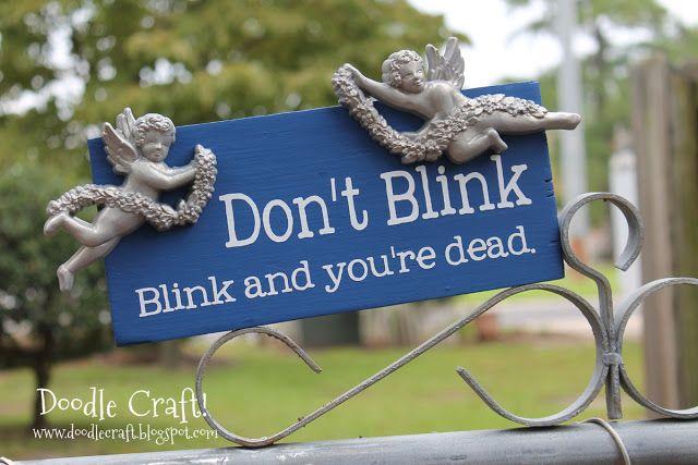 Don't Blink! - Week 3 Doodle Craft