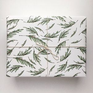 Evergreen Gift Wrap