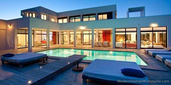 Modern Homes Worldwide: Ibiza, Home, Pool, Dream House, Luxury Villa, Villas, Modern Houses, Modern Homes, Design