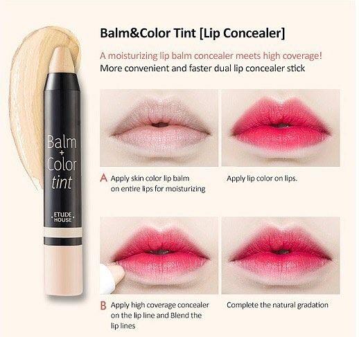 ETUDE HOUSE balm & color tint concealer  Price : 90k  Biar warna liptint yang kalian pakai lebih keluar & tahan lama ���� • #liptint #concealer #tinted #tintconcealer #dijual #jualconcealer #jualliptint #jualmakeup #cosmetics #makeup #real #original #originalmakeup #balm #lipbalm #etude #etudehouse #jualetude #jualetudehouse #korea #korean #koreanmade #koreanlook #koreangirls #madeinkorea #koreanbeauty #koreanproduct #kbeauty #pretty #prettyme…
