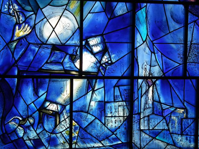129 beste afbeeldingen van Chagall stained glass - Glas in ... Chagall Glas In Lood