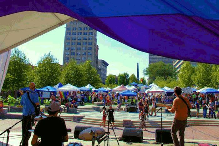 The hippie movement inspired everyone to just be themselves. In a way, that philosophy rings true in Asheville more than any other city in North Carolina. Each year, on the last Saturday in September, Downtown Asheville welcomes the Blue Ridge Pride Festival celebrating the LGBT community.