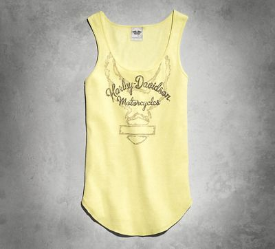 Harley-Davidson has a wide selection of womens shirts, from halter tops to  womens long sleeve tops. Add to your wardrobe with Harley-Davidson shirts.