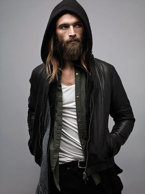 love it. not many men can pull off a full beard.. but this one can!