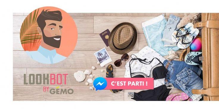 #relationclient : Gémo lance un #chatbot sur Messenger !