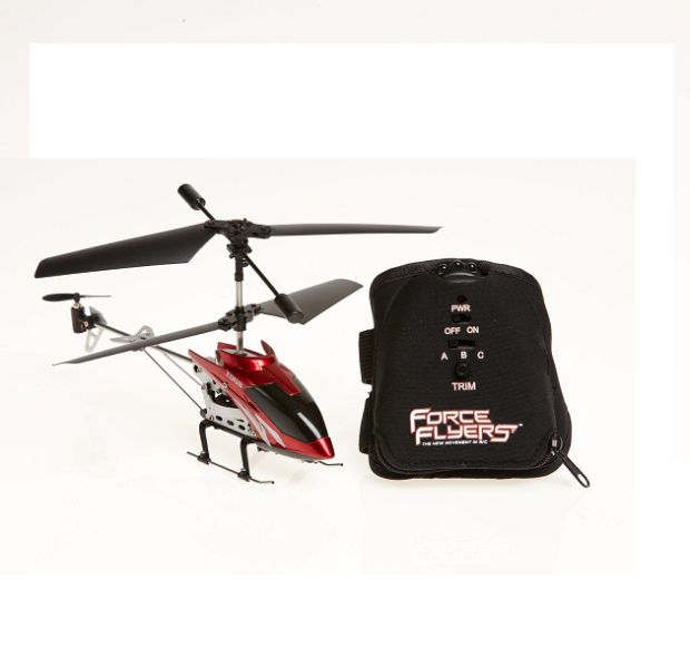 Red Force Flyers Motion Control 3CH Helicopter